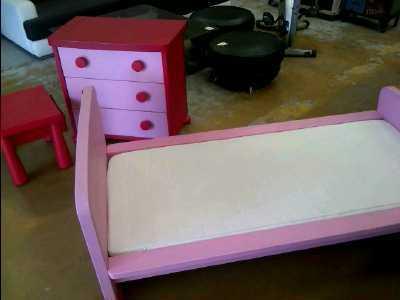 Achat Chambre Enfant Ikea Rose Lit Commode Chevet Occasion