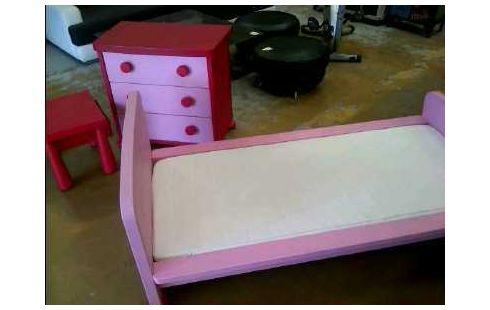 Chambre Enfant Ikea Rose Lit Commodechevet