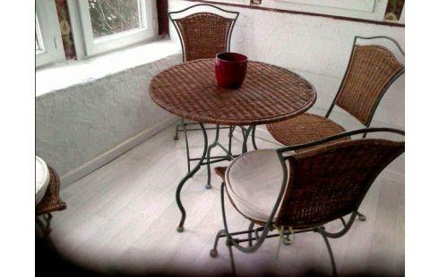 Achat Table De Jardin 4 Chaises Fer Forge Occasion Aubiere
