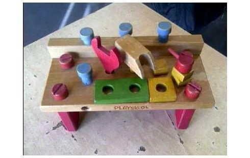 Jouet Etabli Bois Playskool