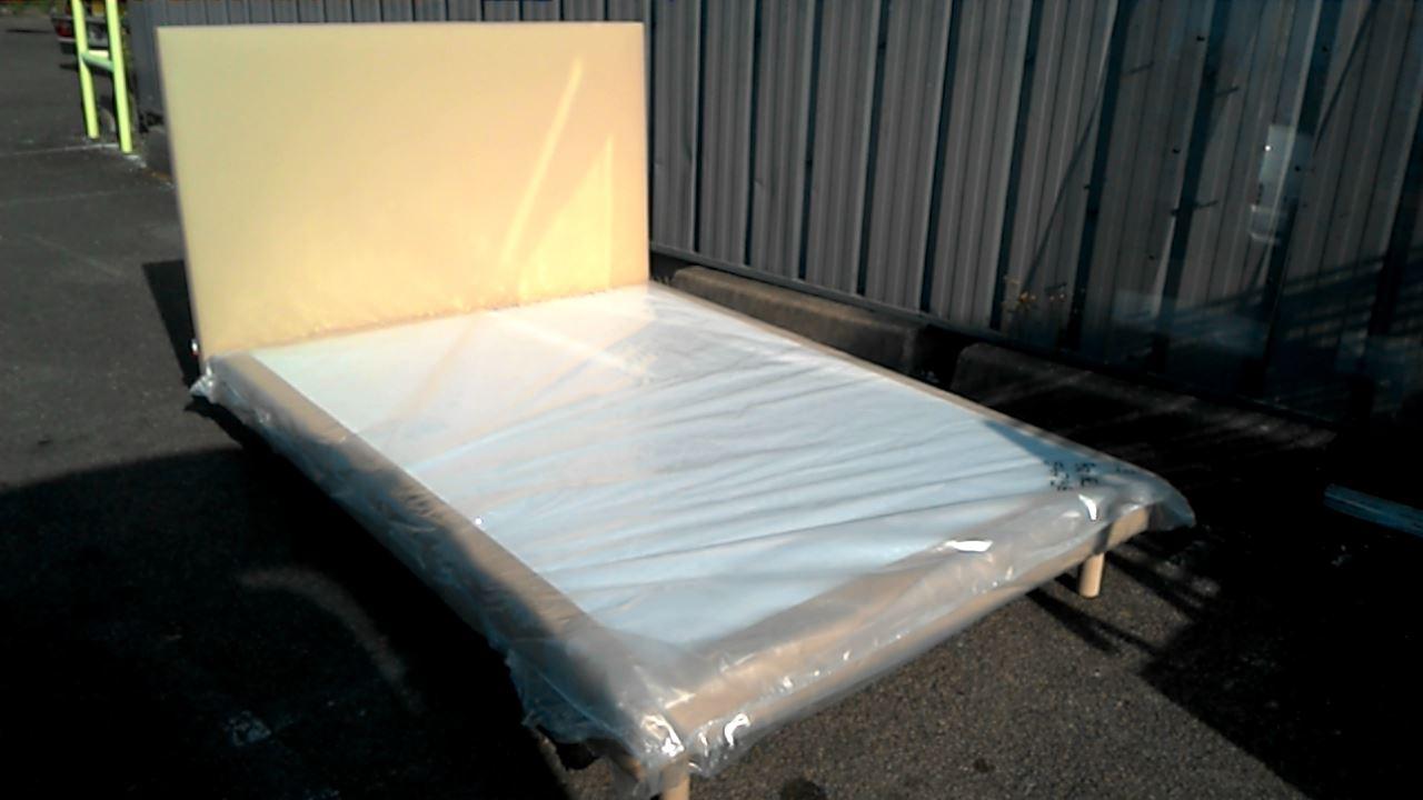 Matériel De Tapissier D Occasion tete de lit + sommier tapissier 140